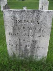 Elisha Loomis headstone