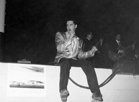 Elvis at Bloch Arena March 25, 1961