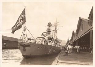 Emden in Honolulu Harbor