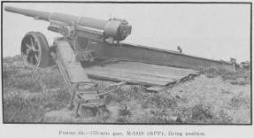 Example of 155mm gun (not specifically at Battery Wailea)