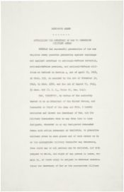 Executive Order 9066-Resulting in the Relocation of Japanese (1942)-1