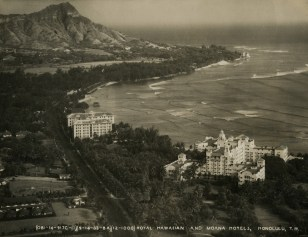 FDR in Hawaii-Waikiki