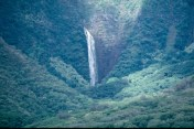 Falls at the end of Halawa Valley