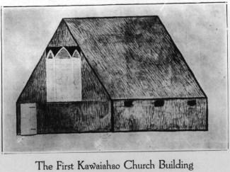 First Kawaiahao Church Building-TheFriend-Oct 1925