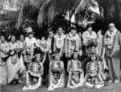 First paying passengers of the Pan American Hawaii Clipper-PP-1-9-001-1936
