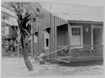 Flooding at Waiakea Mill Camp-PP-29-4-001-Feb_9,_1939