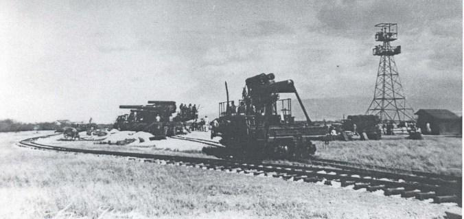 Fort Kamehameha 8-inch railway guns, 1930s
