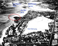 Fort_DeRussy_before_Maluhia_Recreation_Center-(HABS)-1938-noting location of Pierpoint