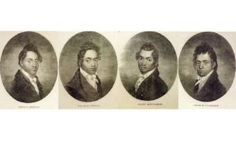 Four Young Hawaiians