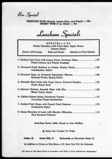 Fred Harvery Company, Union Station Kansas City, Missouri-lunch