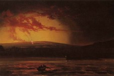 Furneaux,_Charles_-_'Eruption_from_Hilo_Bay',_1881