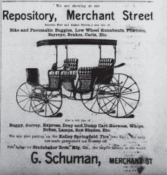 G Schuman Ad-HnlRepub-Oct_18,_1900