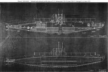 General plans prepared by the Fore River Shipbuilding Company, Quincy, Massachusetts-(navsource-org)-18 June 1910
