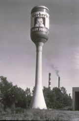 Gerber Baby Food Jar Water Tower Rochester NY