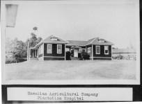 HAWAIIAN AGRICULTURE COMPANY PLANTATION HOSPITAL