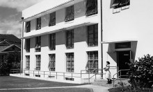 HSPA administration building (fronting Keeaumoku Street)