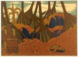 'Hala_Grove,_Kahuwai,_Hawaii',_serigraph_by_-Jean_Charlot-WC