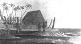 Hale O Keawe was Depository of the Kings of Hawaii, at Honaunau