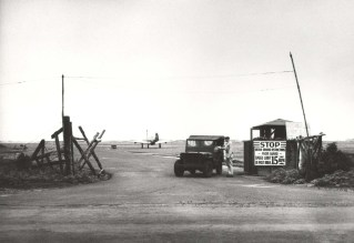 P-39 in background