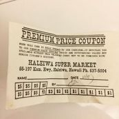 Haleiwa Super Market-IGA-coupon