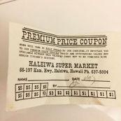 Haleiwa Super Market-IGA-coupon