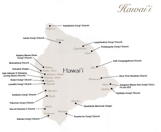 Hawaii-Mission Stations-Hawaiian Congregational Churches (SCHCC)