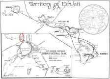 Hawaii Volcano National Park-general map-1926