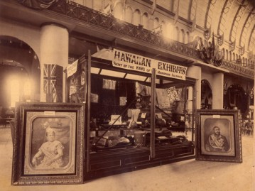 Hawaiian Exhibits from the Hale Naua Society exhibited in Sydney October, 1888