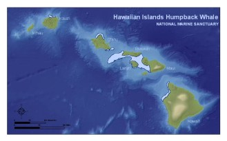 Hawaiian-Islands-Humpback-Whale-National-Marine-Sanctuary-Map