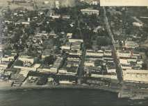 Hilo Aerial-Hilo Masonic Lodge Hall-noted