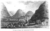 Hiram Bingham I preaching to Queen at Waimea, Kauai, in 1826