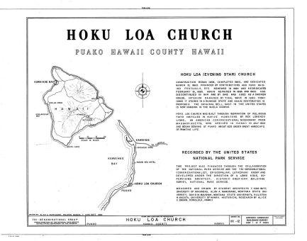 Hokuloa Church HABS-LOC Cover