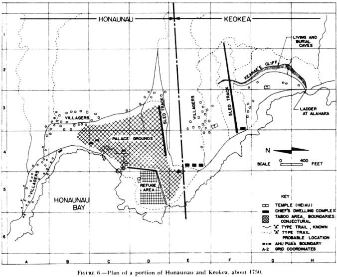 Honaunau-Puuhonua_o_Honaunau-Keokea-Map-1750
