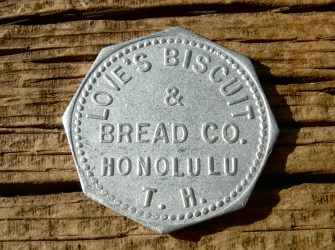 Honolulu Territory Of Hawaii 'Loves Biscuit & Bread Co' 6c-eBay-1900