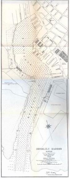 Honolulu_Harbor-USACE-Slattery-Map-1906