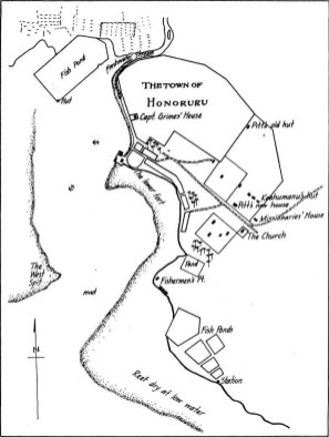 Honolulu_reproduced_from_map_drawn_by_Lt_CR_Malden_of_HBMS_Blonde-1825