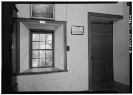 INTERIOR, LOOKING TO REAR - Mission Printing Office-(LOC)