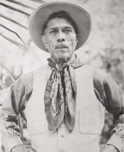 This undated photo, provided by the Paniolo Preservation Society shows Ikua Purdy, who became Hawaii's most famous paniolo when he won the steer roping championship at the 1908 Cheyenne Frontier Days Rodeo in Cheyenne, Wyo. A 16-foot-high statue honors his legacy at the Parker Ranch Shopping Center in Waimea. The legacy of Hawaii's cowboys will be honored with an entire year of events during the Waiomina Centennial Celebration. (AP Photo/Paniolo Preservation Society)**AP PROVIDES ACCESS TO THIS PUBLICLY DISTRIBUTED HANDOUT PHOTO. THE COPYRIGHT IS OWNED BY A THIRD PARTY. NO SALES**