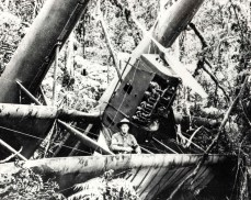 In 1918 Maj Harold Clark and Sgt Robert Gray survived a crash on Mauna Kea volcano on the Big Island of Hawaii
