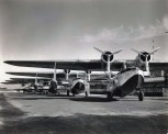 Inter-Island Airways planes on the runway at John Rodgers Field, Honolulu, c1936-1939