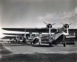 Inter-Island Airways planes on the runway at John Rodgers Field, Honolulu, c1936-1939