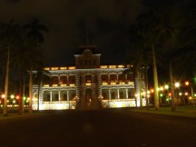 Iolani Palace-Lanterns