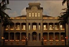 Iolani Palace-Lanterns-Adv