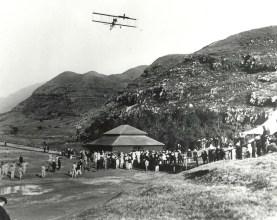 JC Bud Mars' biplane was christened Skylark after its maiden flight.