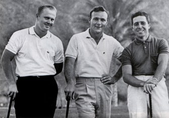 Jack Nicklaus, Arnold Palmer, Gary Player