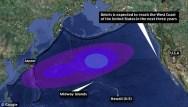 2011-Japan_Tsunami (2011) Marine Debris-simulation map
