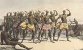 Jean_Augustin_Franquelin_(after_Louis_Choris),_Danse_des_femmes_dans_les_iles_Sandwich_(1822)