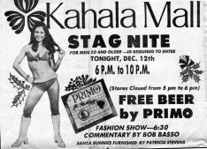 Kahala Mall-Christmas Stag Night-ilind-December 12, 1971