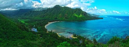 Kahana-Bay-HDR-Panorama-(ShaneHarder)