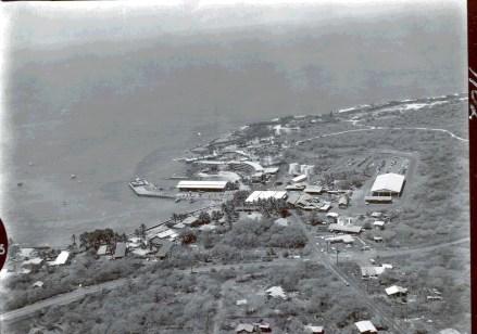 Kailua Bay aerial 1960s